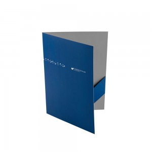 University of Silesia logo paper folder